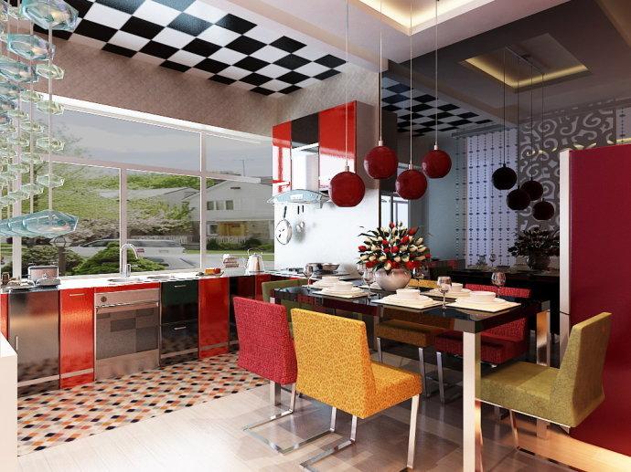 简约 三居 餐厅图片来自用户2737782783在武汉实创装饰43的分享