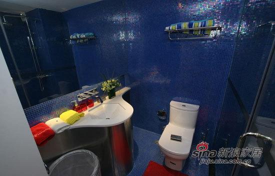其他 二居 卫生间图片来自用户2558746857在72平绚丽色彩搭配完美二居室94的分享