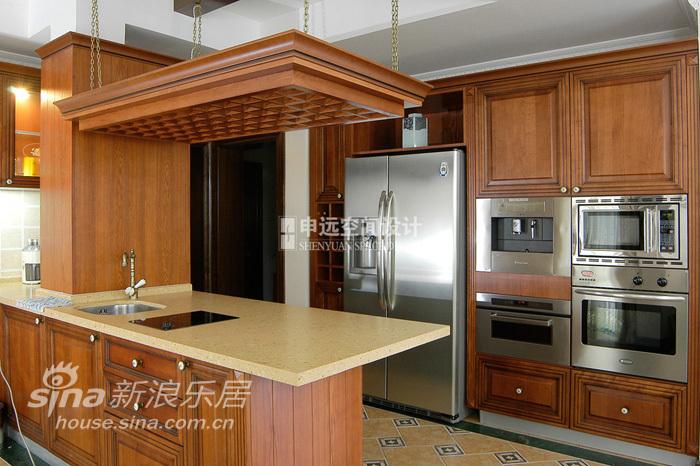 欧式 别墅 厨房图片来自用户2772873991在棕榈滩别墅76的分享