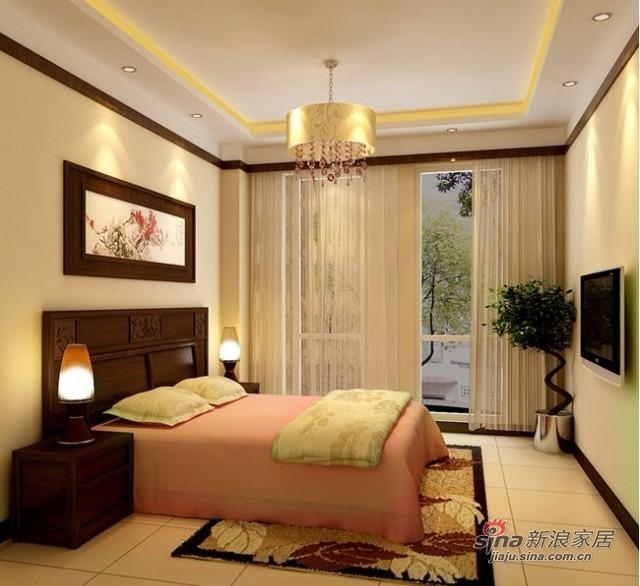 混搭 复式 卧室图片来自用户1907691673在18万缔造200平混搭典雅复式3居室33的分享