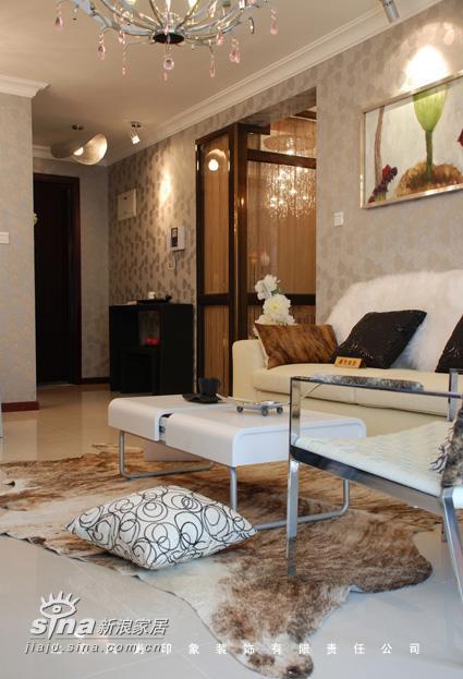 简约 二居 客厅图片来自用户2556216825在珠江帝景售楼处样板间22的分享