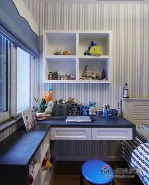 地中海 二居 儿童房 小清新图片来自装修微日记在【高清】小两口72平地中海风情两居82的分享
