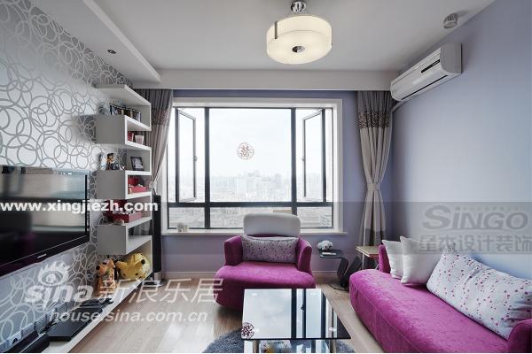 简约 二居 客厅图片来自用户2739378857在宝华现代城93的分享