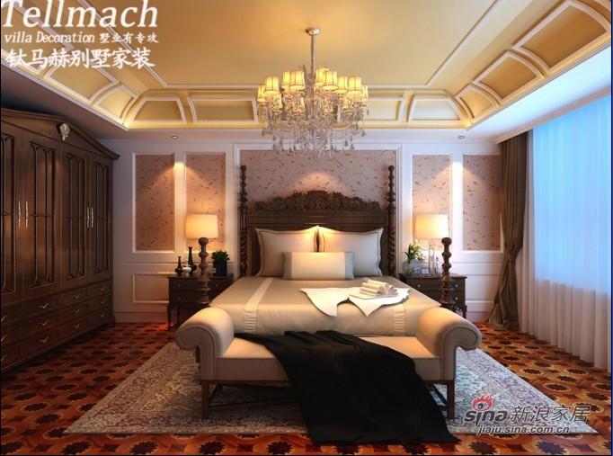 欧式 别墅 卧室图片来自用户2772873991在48万打造500平新欧式风格别墅设计86的分享