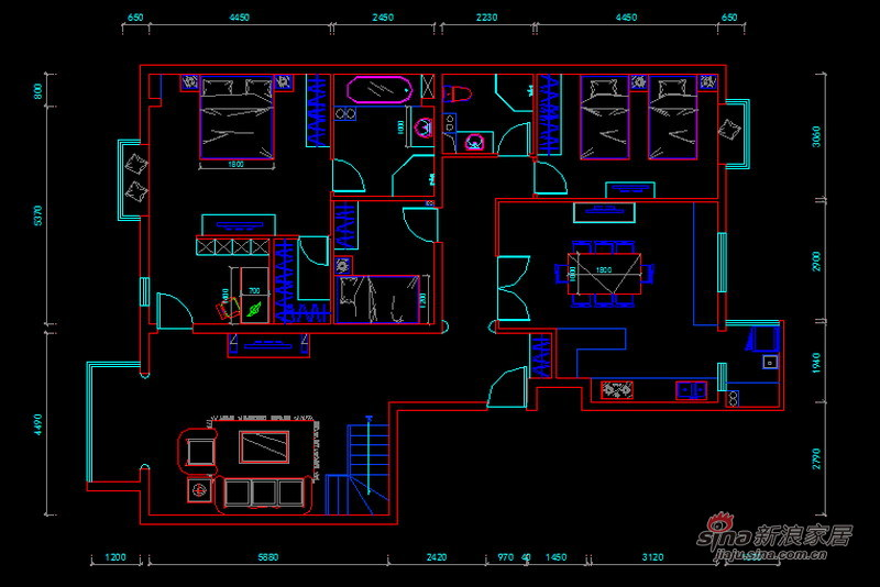 欧式 三居 客厅图片来自用户2745758987在尽显欧式温馨简洁、高贵大方的136平简欧风格58的分享