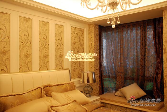 欧式 二居 客厅图片来自用户2746953981在北宁湾样板间--小面积 大奢华40的分享