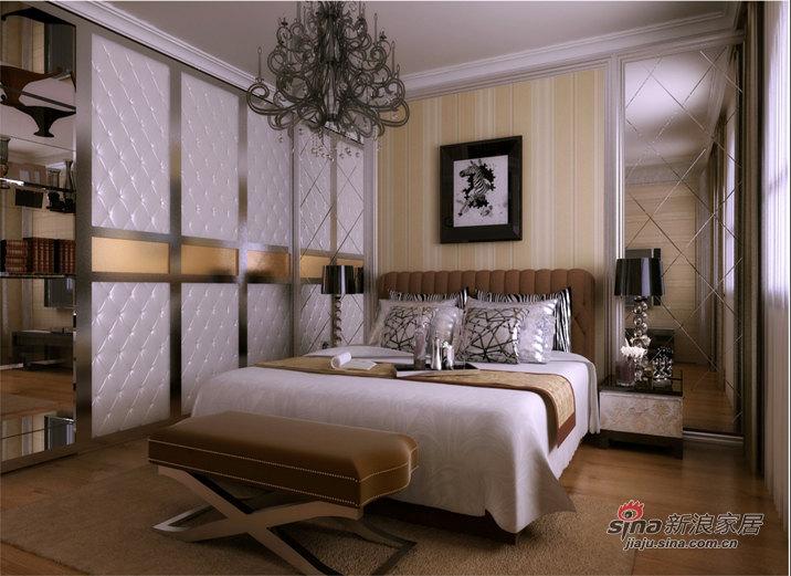 欧式 三居 卧室图片来自用户2746889121在保利海上五月花【沈阳实创装饰】54的分享