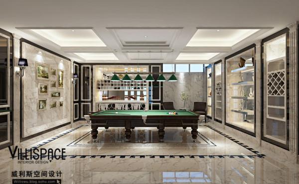 桌球室设计