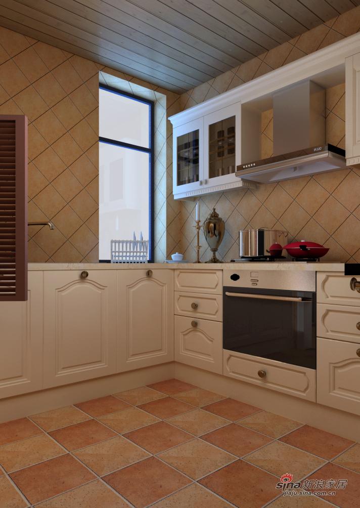 地中海 三居 厨房图片来自用户2756243717在地中海田园风64的分享