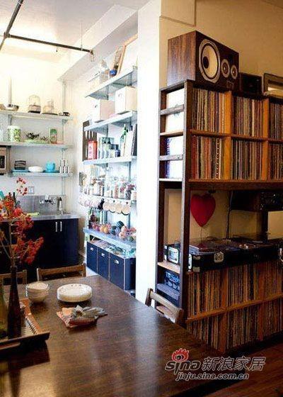 厨房与客厅的过渡带