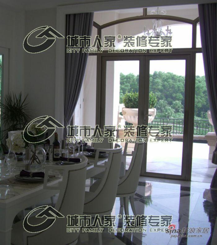 欧式 别墅 餐厅图片来自用户2557013183在天津城市人家——蓟县别墅简欧风格26的分享
