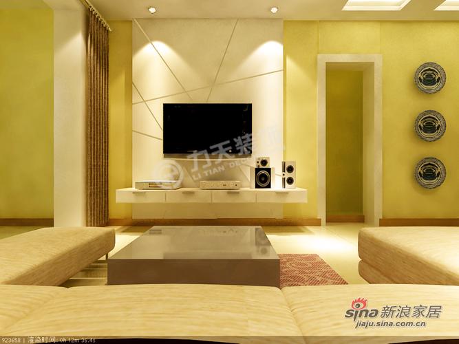 中式 二居 客厅图片来自用户1907659705在89平米混搭环保中式两居43的分享