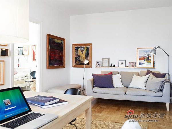简约 二居 客厅图片来自用户2745807237在森林风 62平米干净舒适的优雅单身公寓30的分享