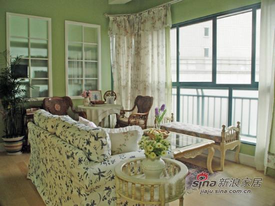 田园 二居 客厅图片来自用户2737946093在素雅田园时尚二居11的分享