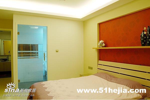 简约 二居 卧室图片来自用户2739081033在简明的自由38的分享