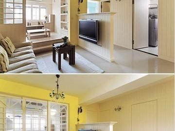 5万打造60平一居室木质清新家83