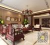 新纪元家园新中式风格三居室