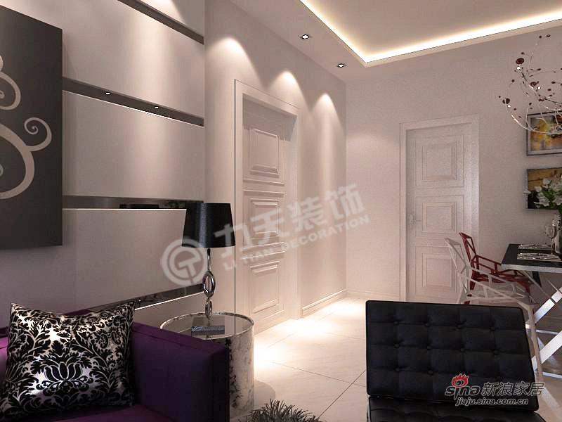 简约 二居 其他图片来自阳光力天装饰在华城浩苑-2室2厅1厨1卫-现代简约17的分享
