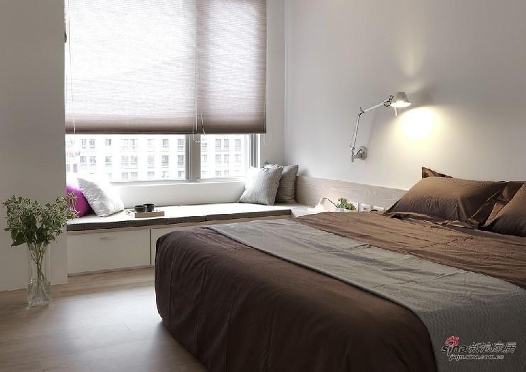 简约 二居 卧室图片来自用户2738813661在6万造112平米日式简约风格93的分享
