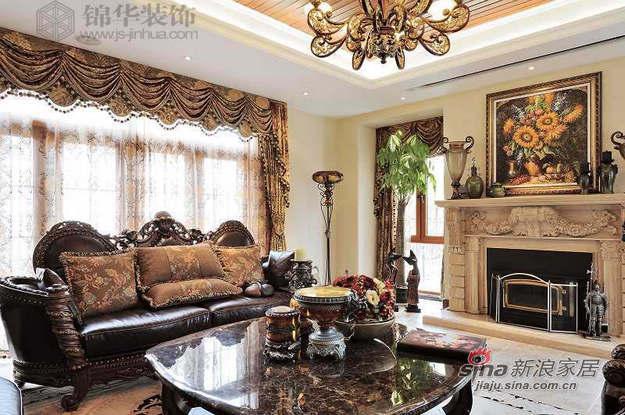 欧式 别墅 客厅图片来自用户2772873991在马斯兰德——别墅图片大全23的分享