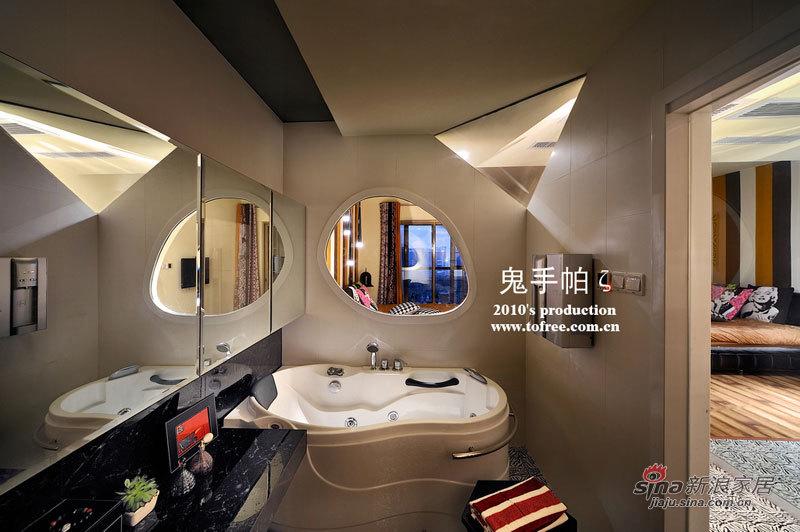 欧式 四居 卫生间图片来自用户2757317061在36万140平4居高清实景欧式时尚复式77的分享