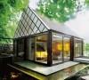 灵感源于卢浮宫的创意阁楼小别墅