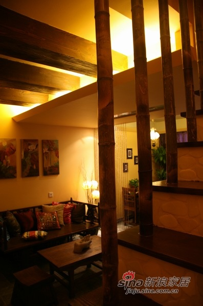 田园 三居 客厅图片来自用户2557006183在东南亚风格禅意的夏天233的分享