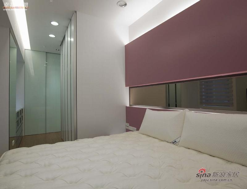 简约 二居 卧室图片来自幸福空间在79平色彩明艳的现代简约2居室40的分享