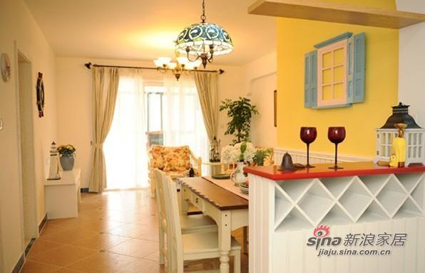 田园 三居 客厅图片来自用户2557006183在14万装83平地中海混搭田园温馨家81的分享