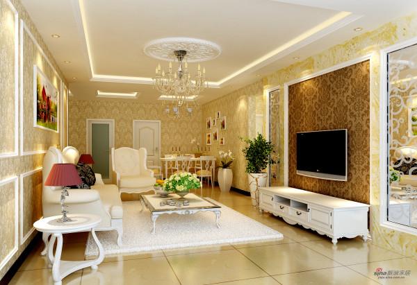 令人心动的设计万锦江城三居室