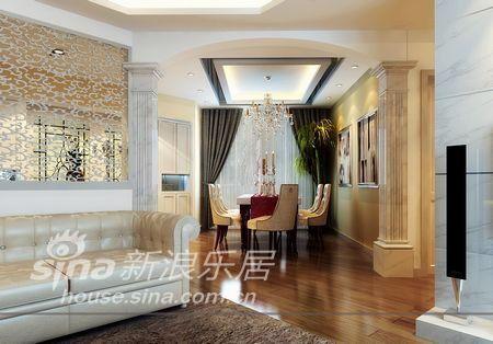 欧式 复式 客厅图片来自用户2746869241在设计师妙手打造异形空间16的分享