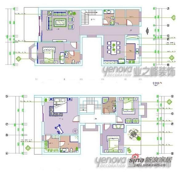 简约 二居 户型图图片来自用户2738845145在港式情调106平米两居室-松江运河城76的分享