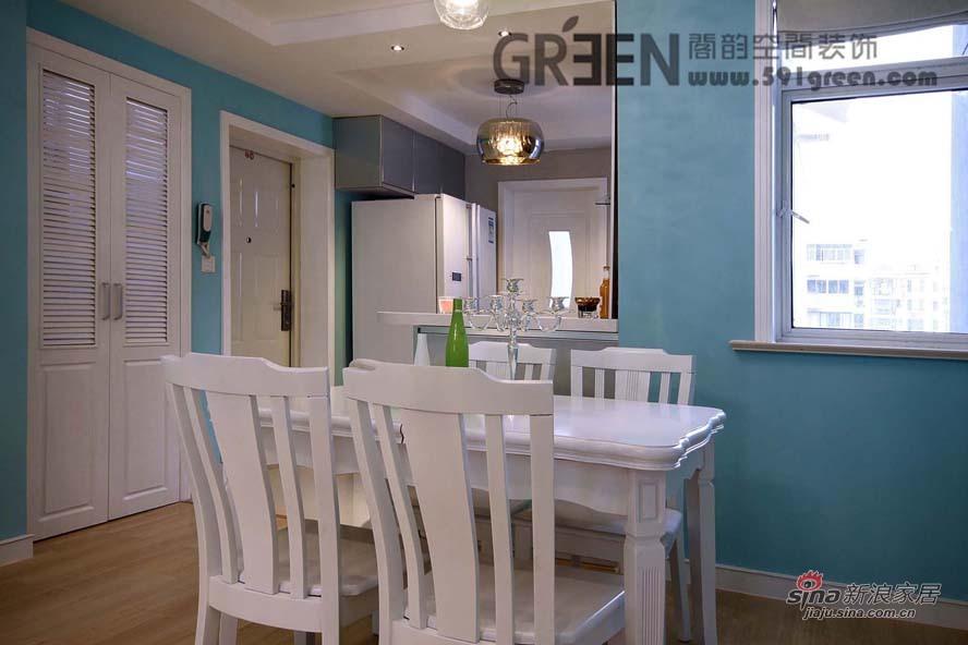 简约 二居 餐厅图片来自阁韵空间装饰在北欧爱琴海44的分享