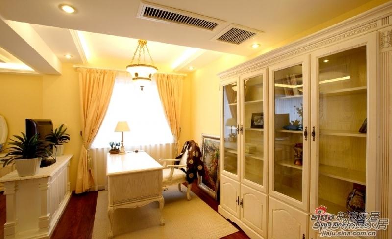 欧式 三居 书房图片来自用户2557013183在【多图】海棠湾欧美风格设计69的分享