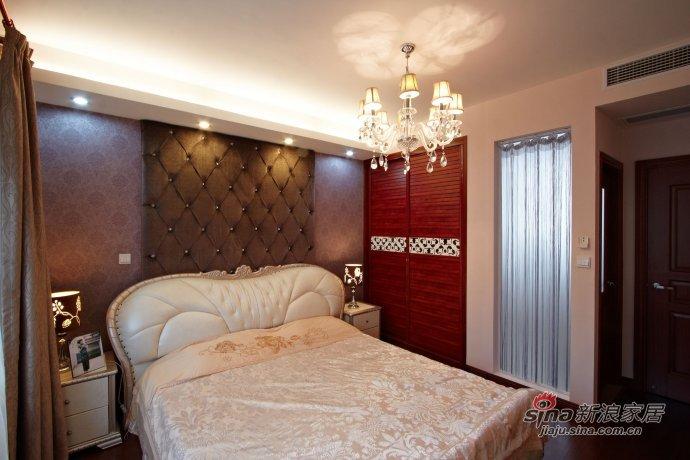 欧式 三居 卧室图片来自用户2772873991在城市小资的120平新古典欧式品质生活66的分享