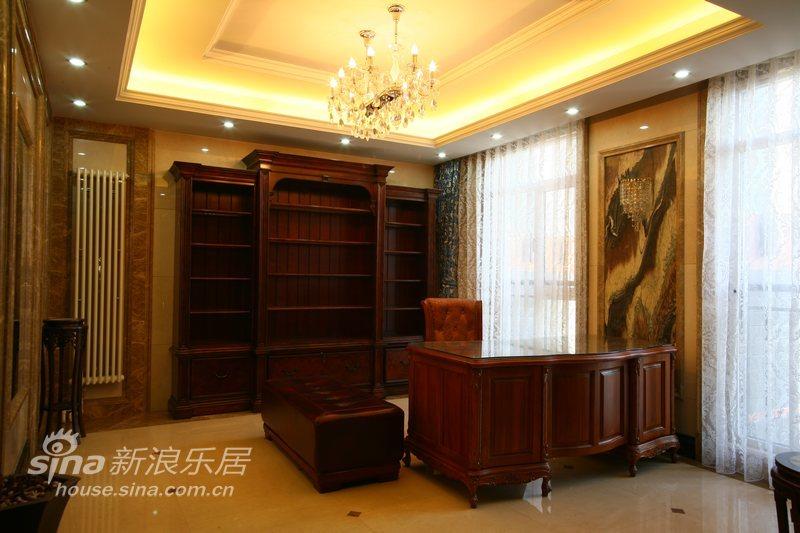 欧式 复式 书房图片来自用户2745758987在有内涵的豪宅50的分享