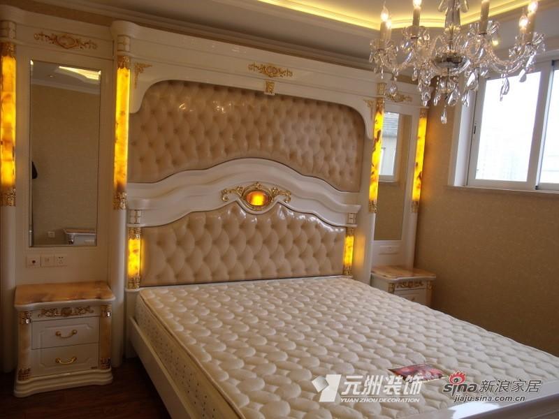 欧式 三居 卧室图片来自用户2746948411在【多图】144平欧美风情29的分享