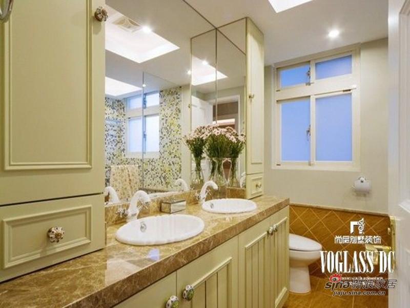 美式 别墅 卫生间图片来自用户1907685403在欧香小镇517平美式乡村风格44的分享