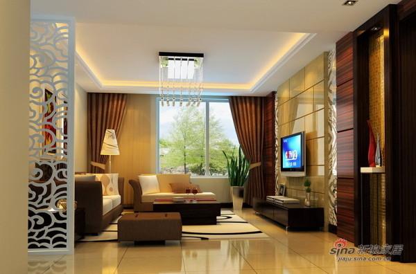现代中式客厅设计