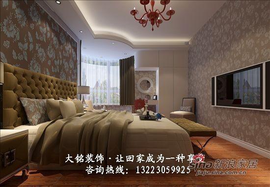 现代简约家庭装修设计-卧室