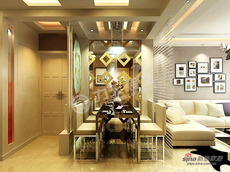 简约 三居 餐厅图片来自阳光力天装饰在枫丹天城-三室两厅一卫-现代简约52的分享