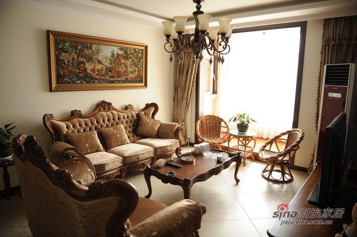 中式 别墅 客厅图片来自用户1907658205在实景别墅(朴实夫妻二人低调生活)21的分享