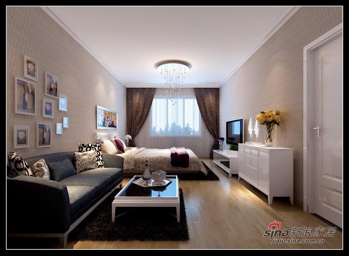 简约 其他 卧室图片来自用户2737950087在阳光100 D6#1-503总统套房精装11万94的分享