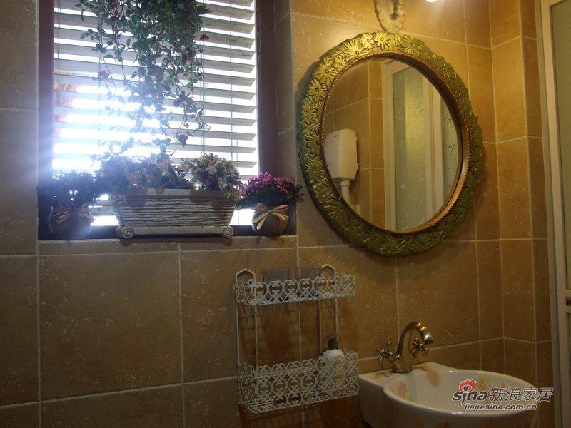 田园 复式 卫生间图片来自用户2737791853在世外桃源46的分享