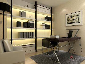 武汉青年打造保利香槟国际四居室简约风格83