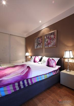 现代 二居 卧室 公主房图片来自装修微日记在【高清】年轻夫妻97平现代时尚婚房22的分享
