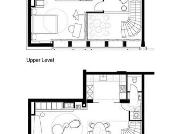 单身女性56平优雅loft空间15