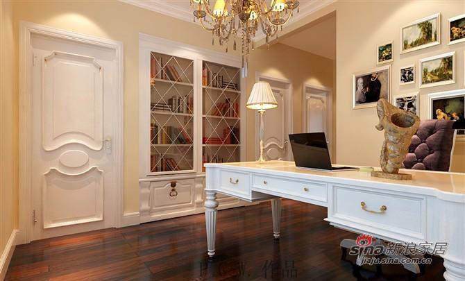 欧式 三居 书房图片来自用户2772873991在决定不容错过的简欧风格三居室55的分享