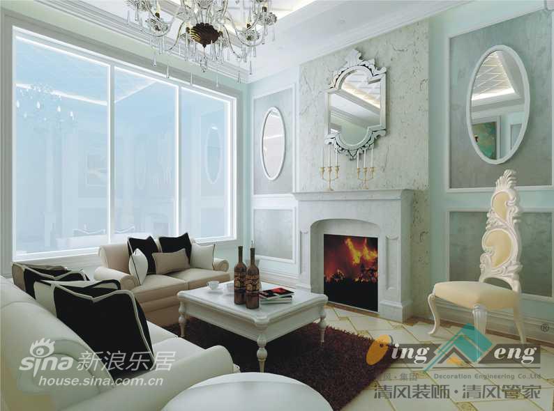 其他 别墅 客厅图片来自用户2737948467在苏州清风装饰设计师案例赏析3062的分享