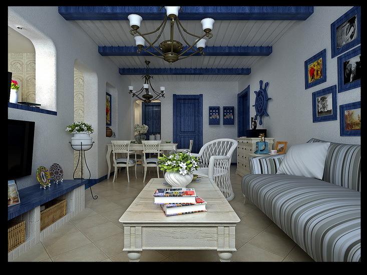 地中海 其他 客厅图片来自用户2757320995在蓝白地中海美家59的分享